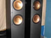 These are the RF-82 series Klipsch speakers from Best