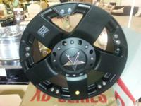 "This is a full set of 4 18""x9"" KMC Rims in black matte"