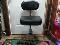 I am selling a KMD drum throne made by GIBRALTAR. It