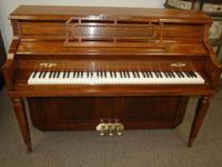 Knabe is among the very best American pianos made.