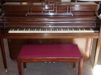 Knabe Piano, beautiful mahogany case, Immaculate,