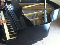 Ebony finish in great shape excellent sound and