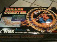 For sale: 3 K'nex Sets  Features: 1 Roller Coaster