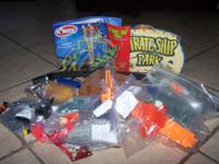 Building knex battery operated ship 8.00 tinker toys