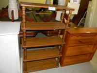 Featured Item Knick Knack Shelf w/ 5 Shelves Measures