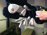 Knight Distance Tour Gold Club Set w/ graphite shafts
