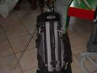 Knight golf Bag with 10 clubs asking $65.00 also have a