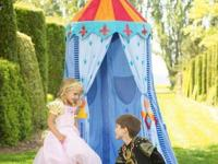 Knight's Castle Hanging Play Tent with 2 matching Floor