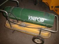 Knipco heater 90,000 BTU Model # F110D. Not exactly the