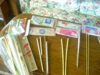 I have many, many sets of knitting needles. ...am