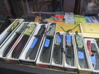 We Have Knives !!!  Several Styles, Sizes & Prices.
