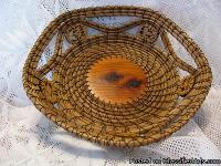 These Pine Needle Baskets are truly