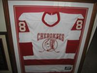 Inaugural period ECHL Knoxville Cherokees Jersey with