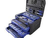 Brand new in box The Kobalt 227-Piece Mechanics Tool