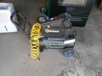 Like new Kobalt Air Compressor-used a couple of
