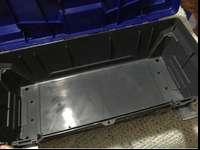 Big Kobalt Tool Box. It has a removable tray inside and