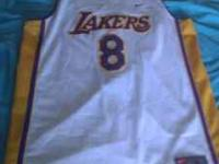 I have for sale an Authentic Kobe Bryant #8 White