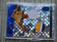 This is a Super Rare Kobe Byrant Jersey Card # 2/4