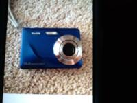 Blue Kodak easy share c180 10.2 megapixel camera. In