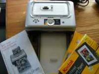 Kodak easy share docking station with software &