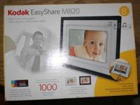 Asking $10 Kodak EasyShare M820 frame. I have two,