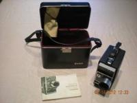 Kodak Electric 8 Automatic Camera with case and