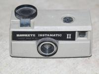 Vintage Kodak Hawkeye Instamatic II point and shoot