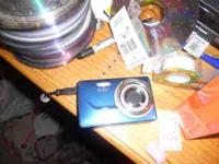 Blue Kodak m340 for sale. this camera costs $150 brand