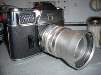 Up for sale here is a NICE Kodak Retina Reflex 35mm