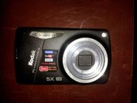 Digital kodak camera in like new condition. Very light