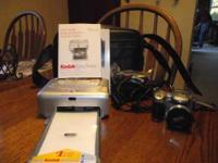 Kodak Easy Share Camera Z740 & Printing Dock. No
