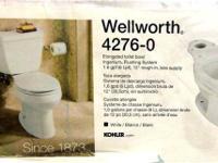 "Kohler 4276-0 Wellworth Elongated Toilet Bowl, White12"""