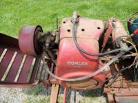 Complete running Kohler K181 Engine. Runs very good.