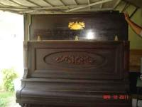 Upright Kohler and Campbell piano. Researched
