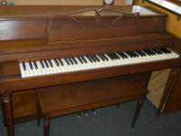 This older Kohler & Campbell spinet piano is in great