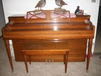 I HAVE NICE PIANO FOR SALE GOOD CONDITION SOUNDS GOOD