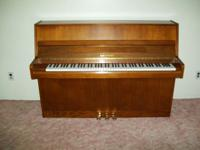 Kohler & Campbell Upright/Console Piano, continental