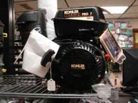 Brand New Kohler Command 7 horsepower horizontal shaft