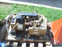 This generator was removed from an RV. Works great,
