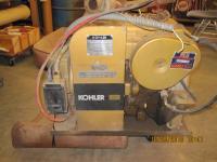 Kohler 4500 watt, 120 volt, 1800 rpm generator. This
