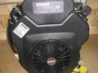 Kohler 23 Hp Command twin cylinder, vertical shaft