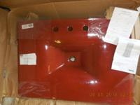 This beautiful one piece vanity is brand new. It is on