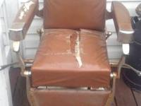 i am selling my circa 1920's to 1940's koken reclining