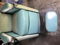 Koken President Barber Chair mid-century rare. In very