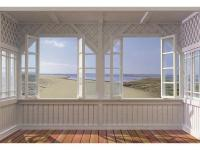 Turn a wall into windows with this gorgeous vista from