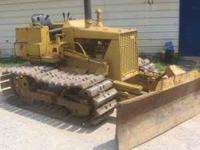 KOMATSU DOZER MODEL D20P-5. 2,320 HOURS. GOOD UNDER