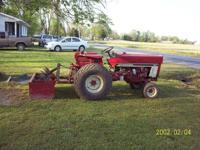 International Komatsu tractor 3 cylinder diesel 801