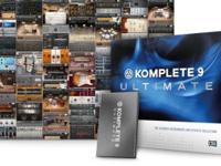 Komplete 9 Ultimate for Mac, HDD or Laptop Transfer.