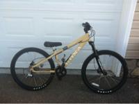 Used Kona mountain bike. Bought 2 years ago and only