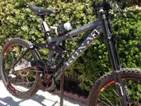 I HAVE A DOWNHILL MOUNTAIN KONA STINKY SUPREME BIKE! IT
